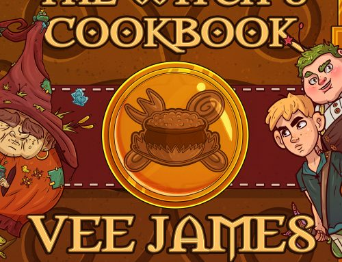 """New Release """"The Witch's Cookbook"""" E-book in pre-order through 6/1"""